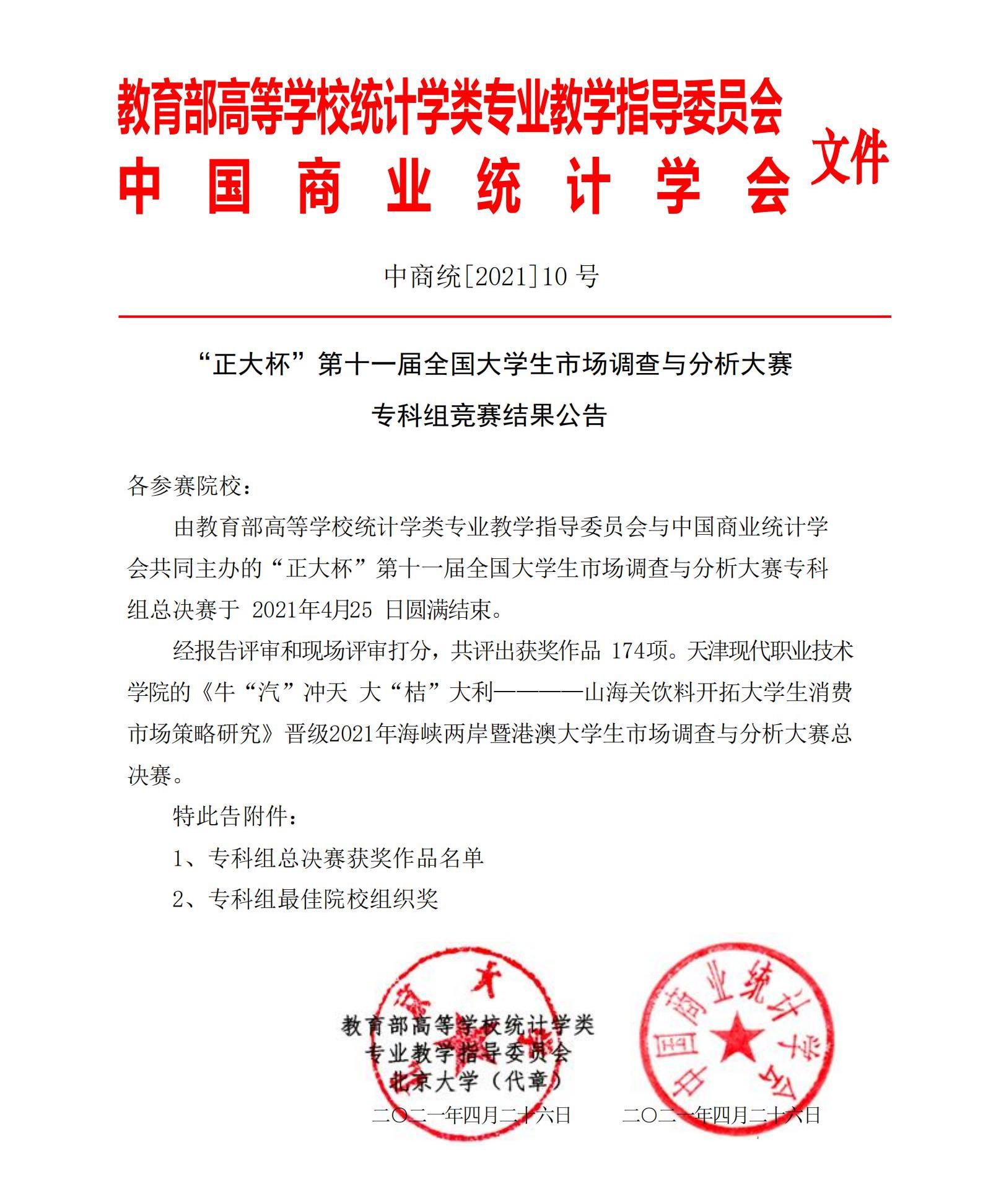 第11届市调大赛专科组竞赛结果公告(专科组)_00.png